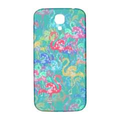 Flamingo pattern Samsung Galaxy S4 I9500/I9505  Hardshell Back Case