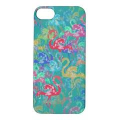 Flamingo pattern Apple iPhone 5S/ SE Hardshell Case