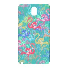 Flamingo pattern Samsung Galaxy Note 3 N9005 Hardshell Back Case