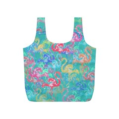 Flamingo pattern Full Print Recycle Bags (S)
