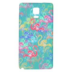 Flamingo pattern Galaxy Note 4 Back Case
