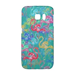 Flamingo pattern Galaxy S6 Edge
