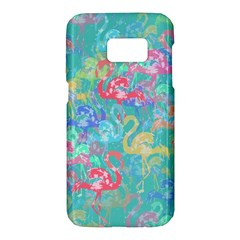 Flamingo pattern Samsung Galaxy S7 Hardshell Case