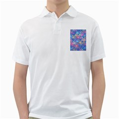Flamingo pattern Golf Shirts