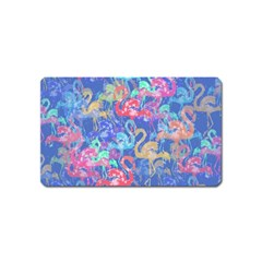 Flamingo pattern Magnet (Name Card)