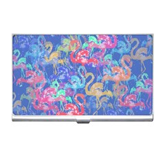 Flamingo pattern Business Card Holders