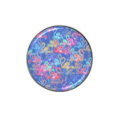 Flamingo pattern Hat Clip Ball Marker (4 pack)