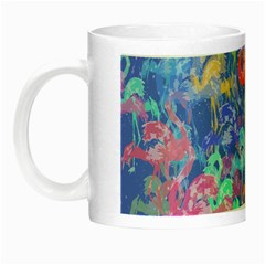 Flamingo pattern Night Luminous Mugs