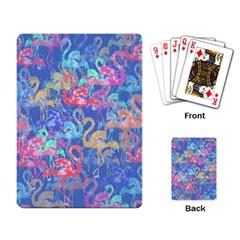 Flamingo pattern Playing Card