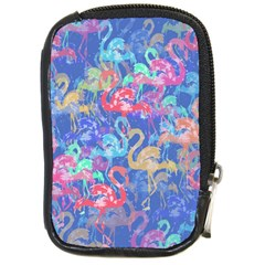 Flamingo pattern Compact Camera Cases