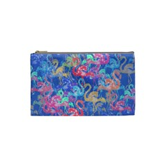 Flamingo pattern Cosmetic Bag (Small)
