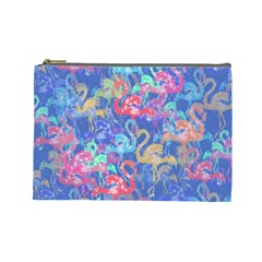 Flamingo pattern Cosmetic Bag (Large)