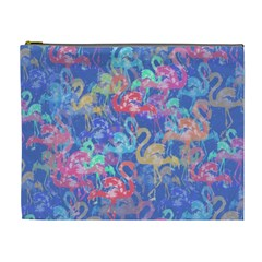 Flamingo pattern Cosmetic Bag (XL)