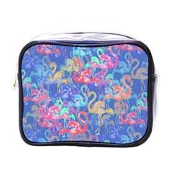 Flamingo pattern Mini Toiletries Bags