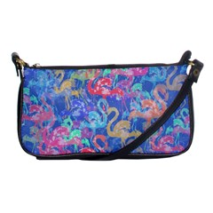 Flamingo pattern Shoulder Clutch Bags