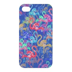 Flamingo pattern Apple iPhone 4/4S Premium Hardshell Case