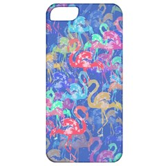 Flamingo pattern Apple iPhone 5 Classic Hardshell Case