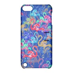 Flamingo pattern Apple iPod Touch 5 Hardshell Case with Stand