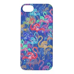 Flamingo pattern Apple iPhone 5S/ SE Hardshell Case