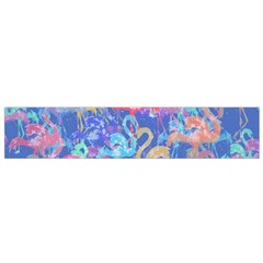 Flamingo pattern Flano Scarf (Small)