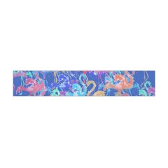 Flamingo pattern Flano Scarf (Mini)