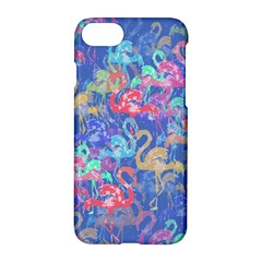 Flamingo pattern Apple iPhone 7 Hardshell Case