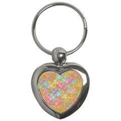 Flamingo pattern Key Chains (Heart)