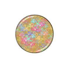 Flamingo pattern Hat Clip Ball Marker