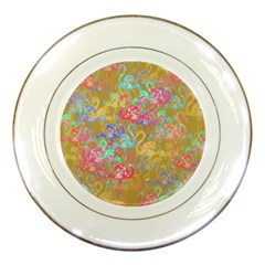Flamingo pattern Porcelain Plates