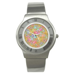 Flamingo pattern Stainless Steel Watch