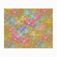 Flamingo pattern Small Glasses Cloth (2-Side)