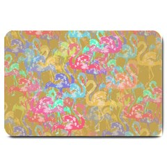 Flamingo pattern Large Doormat