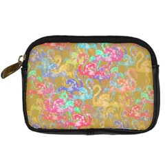 Flamingo pattern Digital Camera Cases