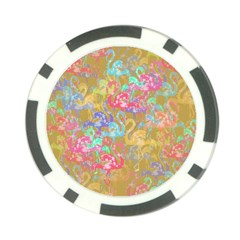 Flamingo pattern Poker Chip Card Guard (10 pack)