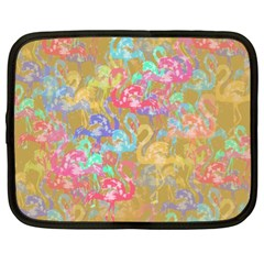 Flamingo pattern Netbook Case (XL)