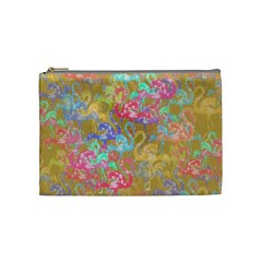 Flamingo pattern Cosmetic Bag (Medium)
