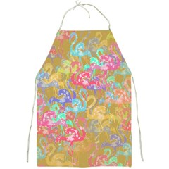 Flamingo pattern Full Print Aprons