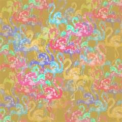 Flamingo pattern Magic Photo Cubes
