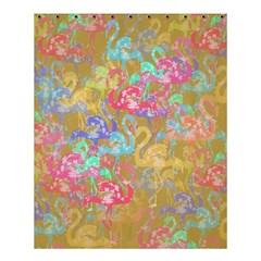 Flamingo pattern Shower Curtain 60  x 72  (Medium)