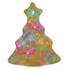 Flamingo pattern Ornament (Christmas Tree)