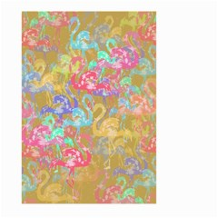 Flamingo pattern Large Garden Flag (Two Sides)
