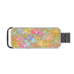 Flamingo pattern Portable USB Flash (Two Sides)