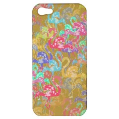 Flamingo pattern Apple iPhone 5 Hardshell Case