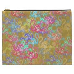 Flamingo pattern Cosmetic Bag (XXXL)