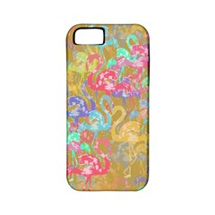Flamingo pattern Apple iPhone 5 Classic Hardshell Case (PC+Silicone)
