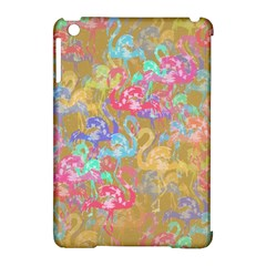 Flamingo pattern Apple iPad Mini Hardshell Case (Compatible with Smart Cover)
