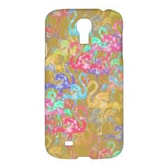 Flamingo pattern Samsung Galaxy S4 I9500/I9505 Hardshell Case