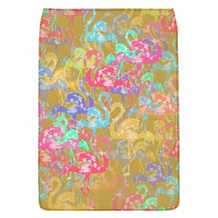 Flamingo pattern Flap Covers (S)