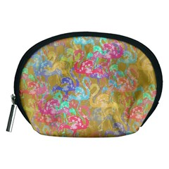 Flamingo pattern Accessory Pouches (Medium)