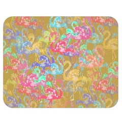 Flamingo pattern Double Sided Flano Blanket (Medium)
